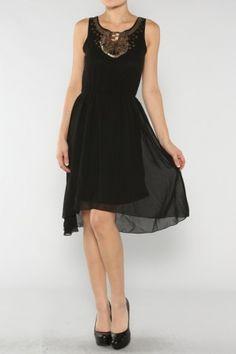 Sequin Chiffon Dress If you love dresses salediem has the look for Fall #salediem #fall#fashion. Shipping is FREE!