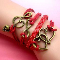 Buy 1 Get 1 FREE New Stylish Handmade Bracelet by ThingsAndRings4U