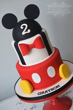 Mickey Mouse Birthday Cakes Mickey Mouse Themed Cake K Noelle Cakes Disneys Mickeyminnie. Mickey Mouse Birthday Cakes Mickey Mouse Club House First Birthday Cakes Calynne Kaden Mickey Birthday Cakes, Mickey 1st Birthdays, Mickey Mouse First Birthday, Mickey Mouse Clubhouse Birthday Party, Mickey Cakes, First Birthday Cakes, 2nd Birthday, Birthday Ideas, Bolo Do Mickey Mouse
