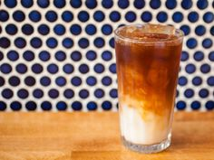 Horchata iced coffee at Same Day Cafe