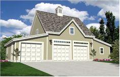 Oak Lawn Workshop Garage Plans