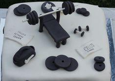 Weight Lifting Cake Designs Http//threeriverskonfectionscom/birthday cakepins.com