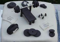 Weight Lifting Cake Designs Http//threeriverskonfectionscom/birthday  cakepins.com