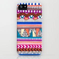 AQUA iPhone & iPod Case #aztec