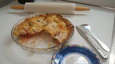 Rhubarb-Strawberry Pie with Tapioca