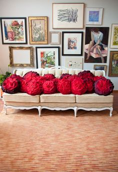 these pillows are stunning! by that funkyboutique...