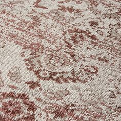 Woven using the highest quality cotton chenille yarn, this vintage jacquard design suits modern & classic interiors. Modern Classic Interior, Home Republic, Floor Rugs, Shag Rug, Flooring, Pink, Vintage, Bathrooms, Design