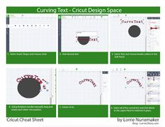 I have created a series of Cricut Cheat Sheets. The Cheat Sheets are quick reference guides to everyday tasks in Cricut Design Space with t...