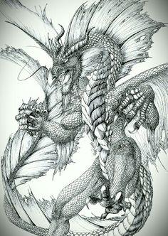 Water Dragon by Lileth