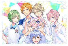 Anime Couples Manga, Cute Anime Couples, Anime Guys, The Boy Is Mine, Fruits Basket Anime, Alice, Ensemble Stars, Actors, Pretty Boys