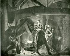 Image of Iron workers and their family. Irish, Prince, Summer, Painting, Image, Art, Art Background, Summer Time, Irish Language
