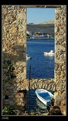 Chalkie Island, Greece