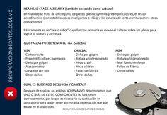 HSA-Daño de cabezal. Recuperación de Datos en México.