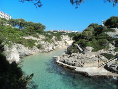 Spain, Baleares, Menorca, Cala en Forcat