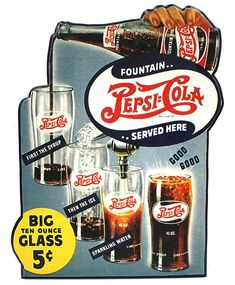 MDF Fountain Pepsi-Cola Sign Description -Vintage inspired -Wooden sign for proping or mounting -Great for bars, garages, and rec rooms - 18 x 18 Pepsi Ad, Coca Cola, Soda Fountain, Cookies Policy, Vintage Advertisements, Wooden Signs, Vintage Inspired, Snack Recipes, Rec Rooms
