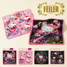 Official mail order site - handkerchief Sanrio Online Shop Contact Hello Kitty Failure chenille