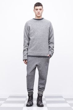 T by Alexander Wang Fall 2013 Menswear Collection Slideshow on Style.com