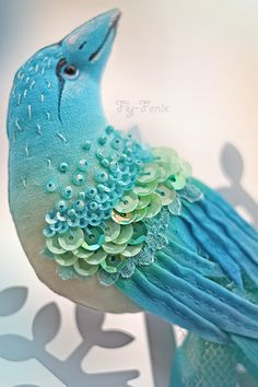 Handmade brooches. Fair Masters - handmade brooch bird Mermaid Song. Handmade.