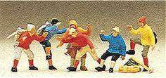 Preiser 10190 - Mountain climbers      6/