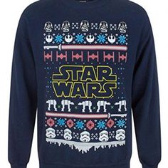 Shop a great selection of Star Wars Logo Christmas Sweatshirt. Find new offer and Similar products for Star Wars Logo Christmas Sweatshirt. Sweatshirts Online, Mens Sweatshirts, Hoodies, Grandad Shirts, Superdry Mens, Blouse Vintage, Pulls, Shirt Designs, Tee Shirts
