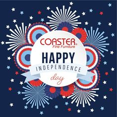 Happy 4th of July to all of our amazing followers!  Be sure to stay safe out there.   -Coaster Family  #IndependenceDay #4thofJuly #USA #RedWhiteandBlue #StarsandStripes #Decor #HomeDecor #HomeImprovement #HomeMakeover #HomeFurnishing #HomeGoals #InteriorDesign #Interior123 #InteriorDecor #HomeStyle #HomeInspiration #HomeInspo #DesignInspo #FurnitureDesign #Dining #Table #Chair #CoasterCompany #Coaster