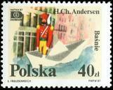 Polish Hans C. Andersen Stamp - Nutcracker