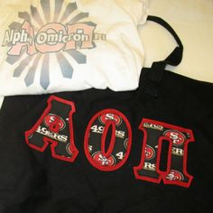 One of our on sale packs, available now. Click through to see how many are available (usually one) and for more information on the items included. It's practically a steal! Alpha Omicron Pi, Custom Greek Apparel, Sorority Outfits, Greek Clothing, Sweatshirts, Sweaters, Clothes, Collection, Shopping