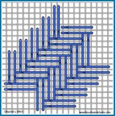 Diagonal I Stitch