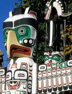 Vancouver, Canada - totem poles