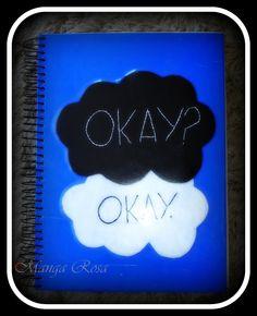 Caderno personalizado A culpa é das estrelas