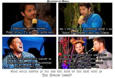 Misha Collins everyone.