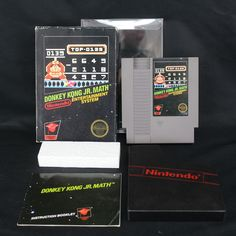 Donkey Kong Jr. Math Nintendo NES CIB Complete w/Authentic Manual: $899.99 End Date: Thursday Apr-26-2018 8:18:12 PDT Buy It Now for only:…