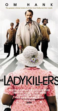 High resolution official theatrical movie poster ( of for The Ladykillers Image dimensions: 955 x Starring Tom Hanks, Irma P. Hall, Marlon Wayans, J. Marlon Wayans, Ryan Hurst, Brothers Film, Coen Brothers, Comedy Movies, Hd Movies, Movies Online, Action Movies, Tom Hanks Filme