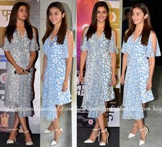 Alia Bhatt In Topshop Unique At 'Udta Punjab' Trailer Launch