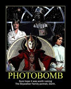 Skywalker Family photo