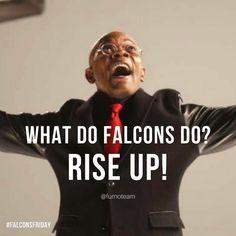 The day before the day. Let's Go!  #falconsfriday #atlantafalcons #atlanta #dirtybirds #nfl #superbowl #georgia #samjackson #riseup #falcons #football #augustaga #columbiacounty #furnoteam #realtor #homes #realestate #kw #kellerwilliams