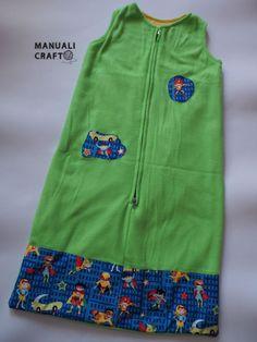 Saquito para dormir | Manualicraft - Amigurumi, scrap y costura creativa
