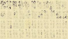 Social Media Art: All Your Facebook Friends Sketched