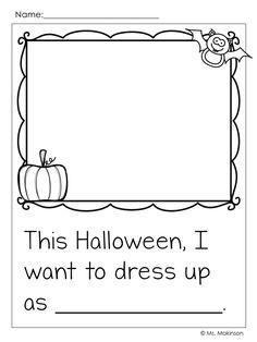 Halloween Writing Prompt - Ms. Makinson