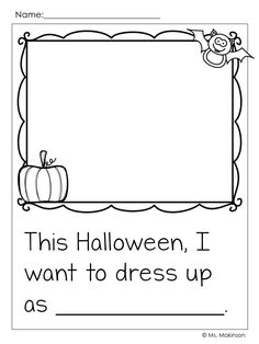 Halloween Writing Prompt - Ms. Makinson