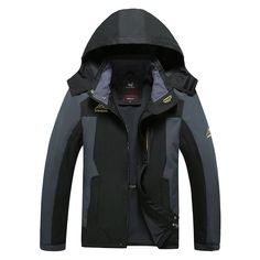 Plus Size Mountain skiing ski-wear winte waterproof hiking outdoor jacket snowboard jacket ski suit men Big yards snow jackets
