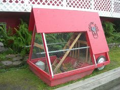Movable Chicken Coops | Portable Chicken Coop | Flickr - Photo Sharing!