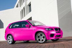 pink bmw x5 !!!! Lovin it
