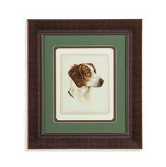 Danchin Brittany Spaniel Framed Painting Print