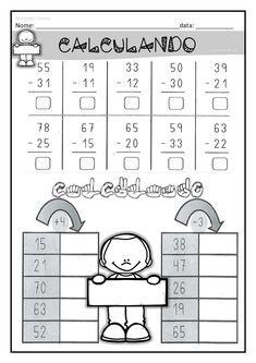 xxxxx English Worksheets For Kindergarten, 3rd Grade Math Worksheets, 2nd Grade Math, Math For Kids, Fun Math, Math Games, Dyslexia Activities, Math Charts, Math Addition