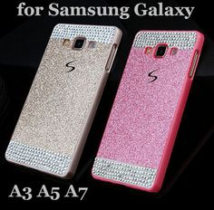 3cd6e8e0e1c Luxury Bling Glitter Rhinestone Diamond Skin Glam Case For Samsung Galaxy  2017 2016 PC Back Cover