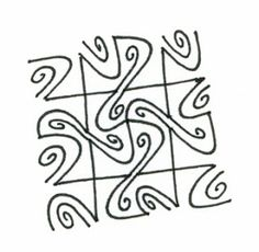 step by step zentangle pattern snorr with loads of pretty variations...easier than it looks!