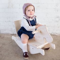 Adorable little girl style with mon petit shoes