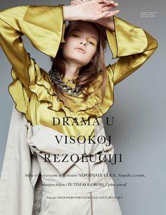 "Duchess Dior: ""Drama in High Resolution"" ELLE Serbia March 2017"