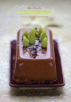 Saveurs Végétales: ★ La bûche {Potimarron . Cacao} aux parfums de Noël ★